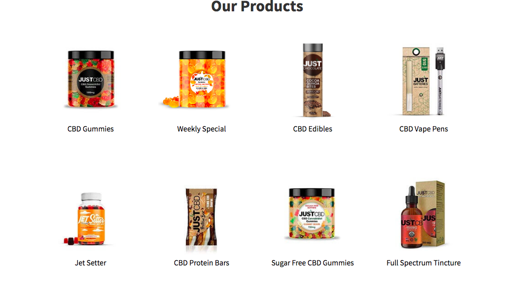 products justcbdstore